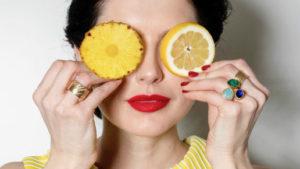 ananas-apelsin