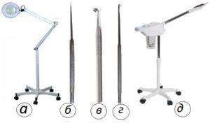 инструменты косметологов