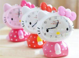 будильники Hello Kitty