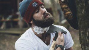 бритье топором