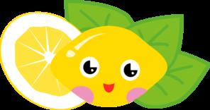 мультяшный лимон